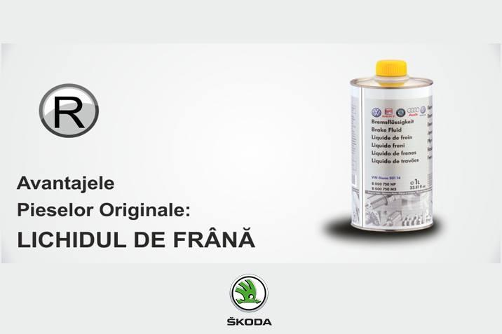 Avantajele Pieselor Originale: LICHIDUL DE FRANA